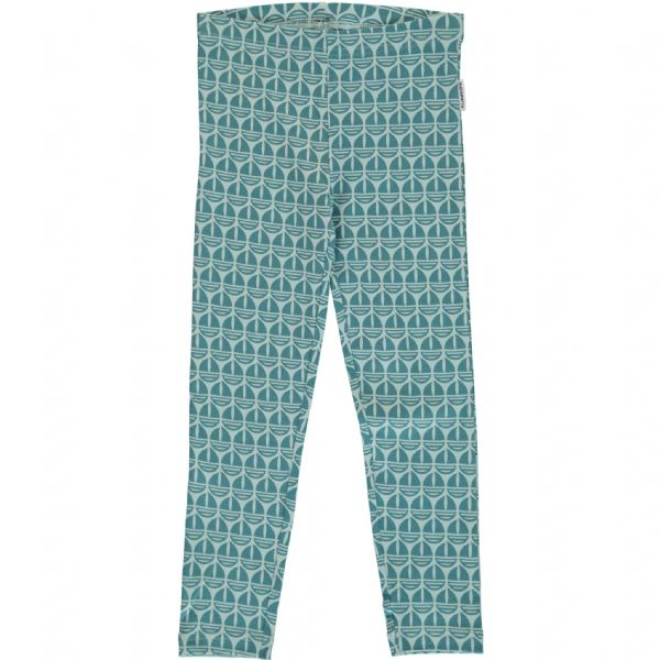 Maxomorra Leggings Sail Boat